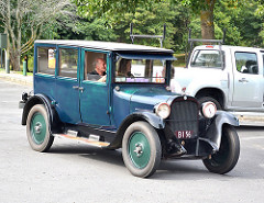 A 1924 Dodge sedan like Stumpy Reed's