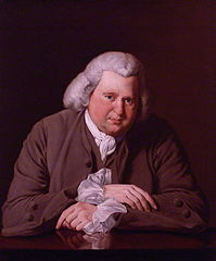 Erasmus Darwin, portrait by Joseph Wright, 1770. Via Wikimedia Commons.