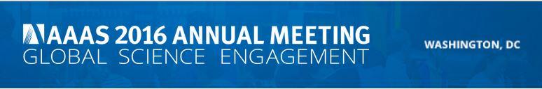AAAS annual meeting 2016 logo
