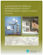 Cover of A 2016 Survey of American Meteorological Society Members About Climate Change