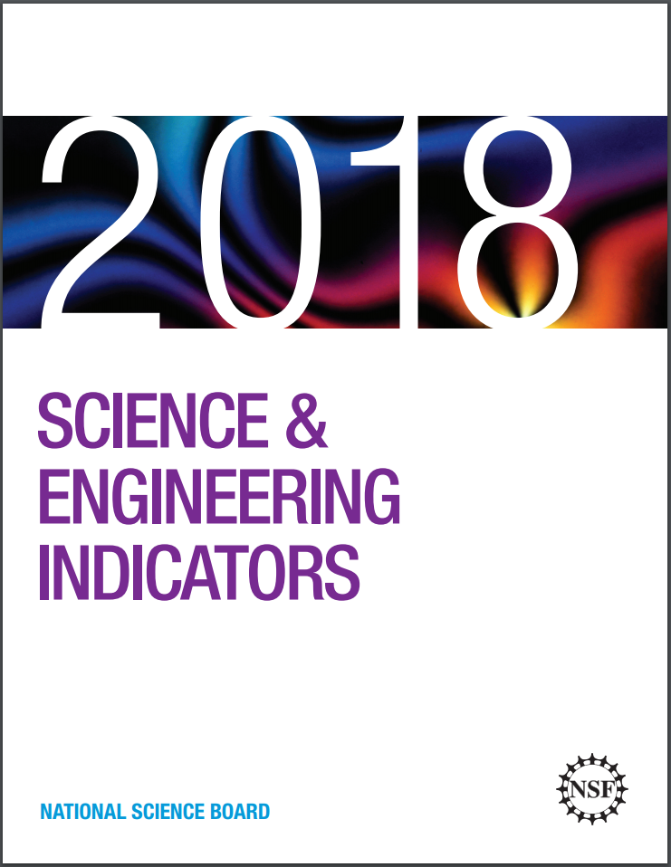 Science and Engineering Indicators 2018 cover