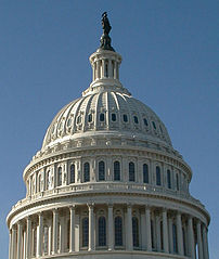 Dome of the US Capitol via Wikimedia Commons