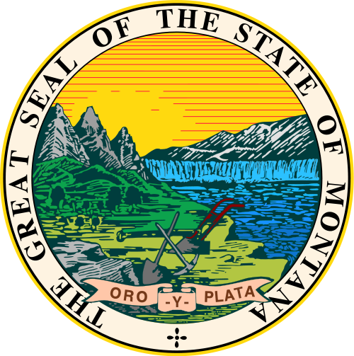 Montana State Seal, via Wikimedia Commons