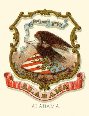 Alabama state coat of arms, 1876