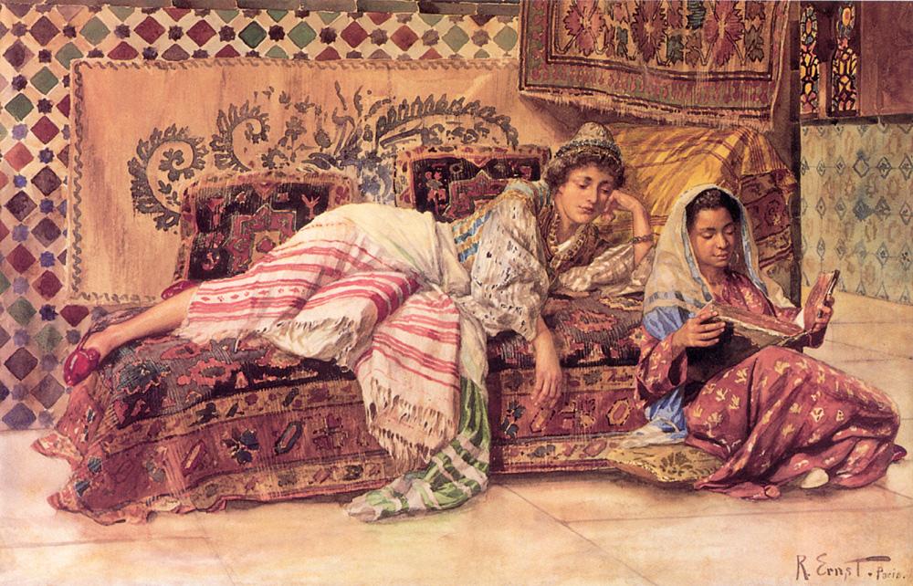 "Rudolf Ernst's ""The Reader"" via Wikimedia Commons"