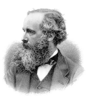 James Clerk Maxwell. Engraving by G. J. Stodart, via Wikimedia Commons
