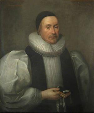 James Ussher, 1641 portrait by Cornelis Janssens van Ceulen, via Wikimedia Commons