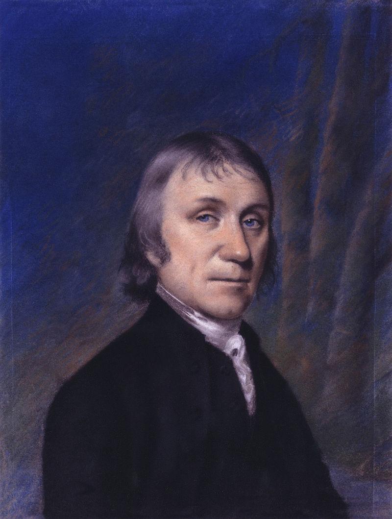 Joseph Priestley. Via Wikimedia Commons