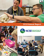 Cover of NCSE's annual report for 2018