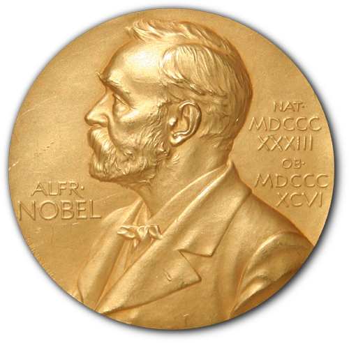 Nobel Prize medal. (Via Wikimedia Commons, public domain in the US)