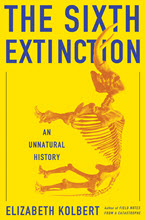 Cover of Elizabeth Kolbert's The Sixth Extinction