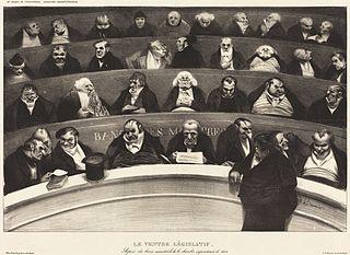 Honoré Daumier, Le Ventre Législatif  (1834)
