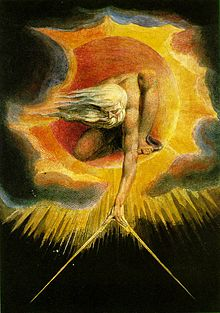 "William Blake, ""Ancient of Days"" (1794)"