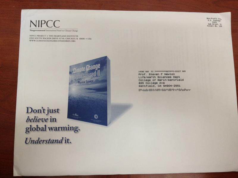 NIPCC envelope