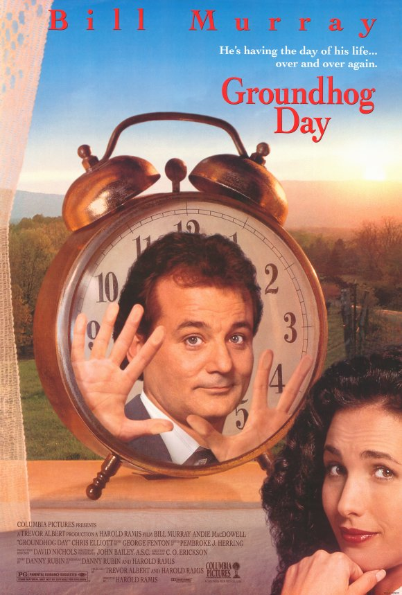 Groundhog Day poster (1993)