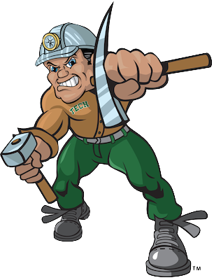 Charlie Oredigger, the Montana Tech mascot
