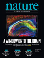 Cover of Nature 497:7449