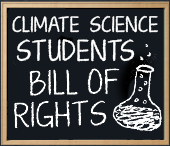 Climate Science Students Bill of Rights logo