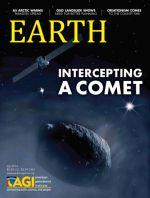 Cover of Earth magazine, July 2014