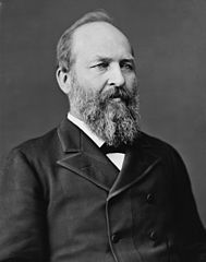 James A. Garfield, via Wikimedia Commons