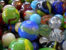Marbles: from  Wikicommons