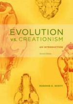 Cover of the paperback edition of Evolution vs Creationism 2nd Edition