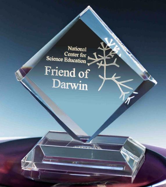 Friend of Darwin Awards | NCSE