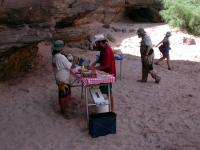 image of outfitters preparing food