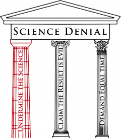 First Pillar of Denial: by Josh Rosenau for NCSE, 2012