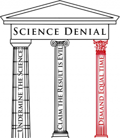 Third Pillar of Denial: by Josh Rosenau for NCSE, 2012