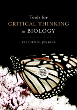 Tools for Critical Thinking in Biology cover