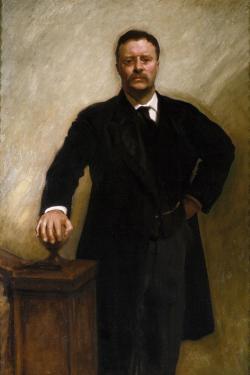 Theodore Roosevelt, via Wikimedia Commons