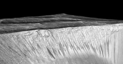Evidence of recurring liquid water on Mars