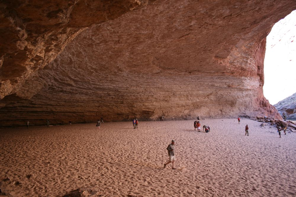 Redwall Cavern, Grand Canyon