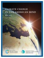 Climate Change in the American Mind: May 2017 cover