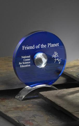 NCSE's Friend of the Planet award