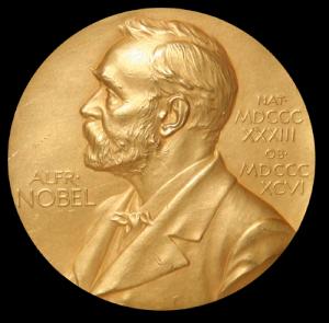 Nobel Prize medal. (Via Wikimedia Commons, public domain in the US)