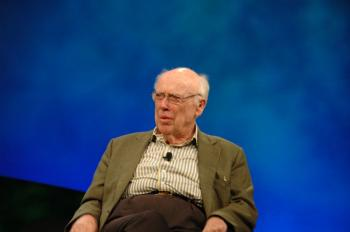 James Watson speaking