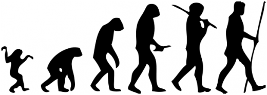 misconception monday let s stop monkeying about shall we ncse classic misleading cartoon showing a linear progression from monkey to man image by jose manuel benitos via