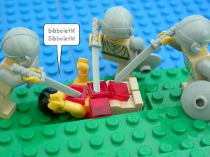 """Sibboleth"" Courtesy of Elbe Spurling,  http://www.thebrickbible.com"
