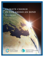 Climate Change in the American Mind: December 2018 cover