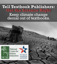 "Tell Textbook Publishers ""Get the Science Right!"" Keep climate change denial out of textbooks."