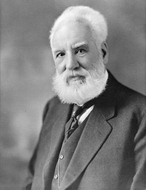 Alexander Graham Bell, via Wikimedia Commons