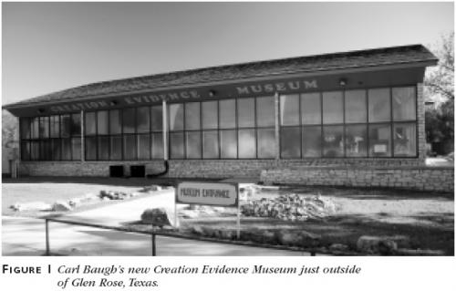 Figure 1: Carl Baugh's new Creation Evidence Museum just outside of Glen Rose, Texas