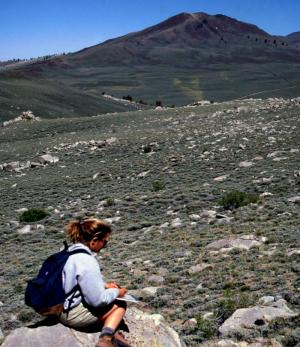 a field geologist