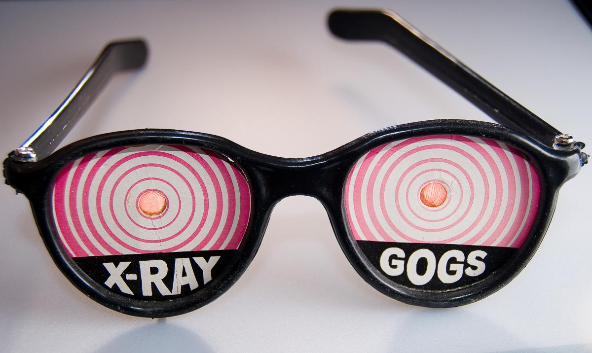 X-ray vision would be cool…too bad evolution doesn't take requests. (photobunny via Flickr)