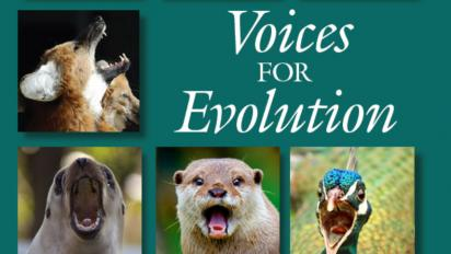 Voices for Evolution partial cover