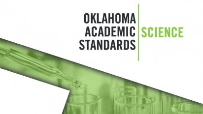 Oklahoma Science Standards document cover