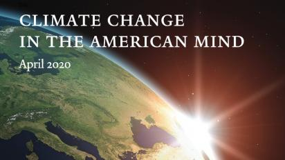 Climate Change in the American Mind: April 2020 report cover