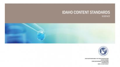 Idaho state science standards